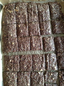 Flax Crackers done
